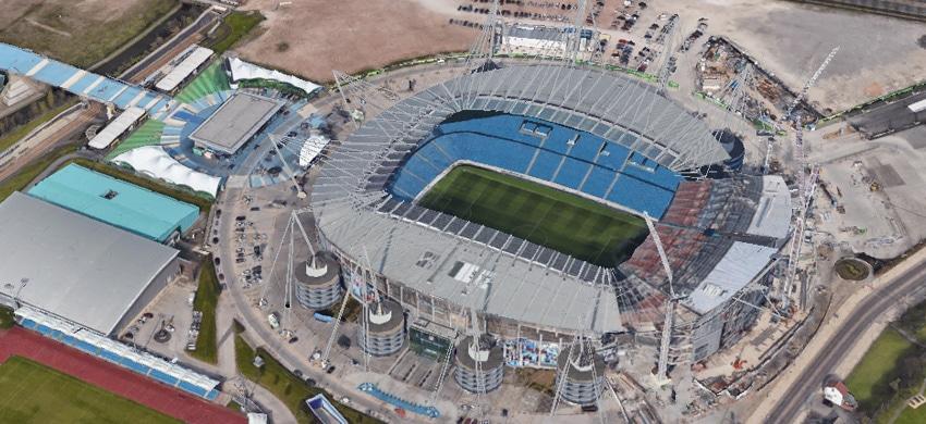 Etihad Stadium di Manchester