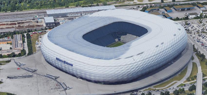 Stadio Allianz Arena di Monaco di Baviera