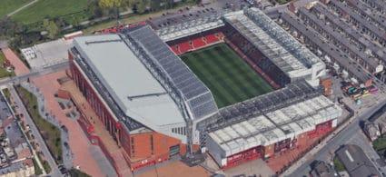 Stadio Anfield di Liverpool