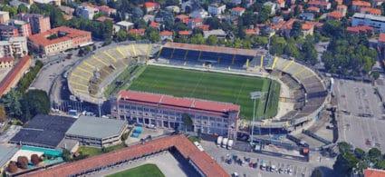 Stadio dell'Atalanta a Bergamo