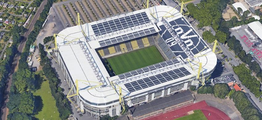 Stadio Signal Iduna Park di Dortmund