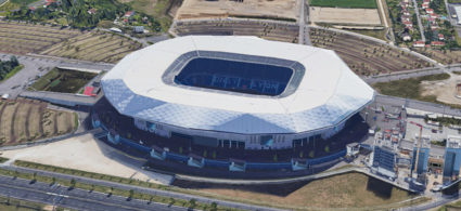 Stadio Parc Olympique Lyonnais di Lione