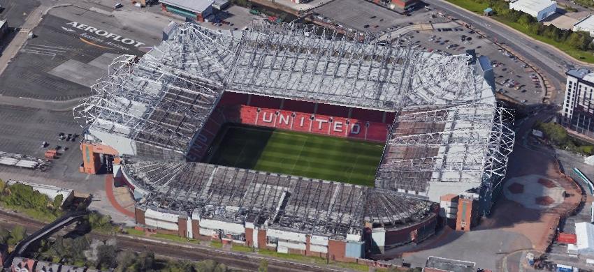 Stadio Old Trafford di Manchester