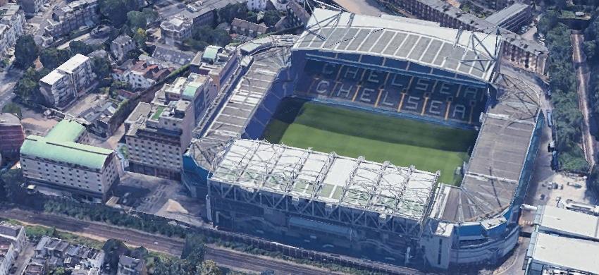 Stadio Stamford Bridge del Chelsea